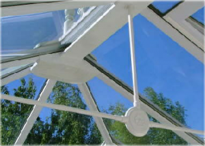 New Conservatory Glass Roof